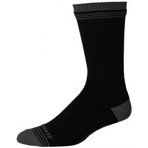 Showers Pass ソックス Crosspoint WP Crew Sock Gray/Black|trycycle