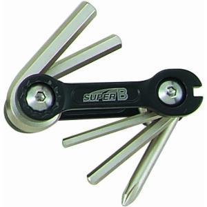 SUPER B 工具 9860PAT 6in1折りたたみツール trycycle