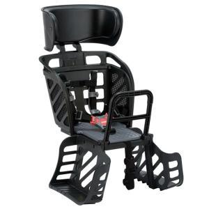 送料無料 オージーケー チャイルドシート RBC-009DX3 ヘッドレスト付後子供乗せ ブラック/グレー trycycle