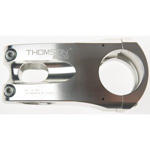 送料無料 THOMSON(トムソン) MTB STEM X4 31.8 50mm 0°SILVER|trycycle