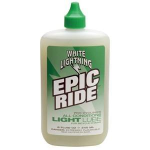 ホワイトライトニング(WHITE LIGHTNING) ケミカル エピック ライド ライト ルーブ 240ml プラボトル|trycycle