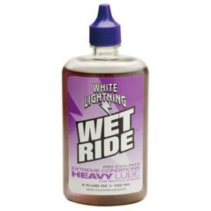 ホワイトライトニング(WHITE LIGHTNING) ケミカル ウエット ライド ヘビー ルーブ 120ml プラボトル|trycycle