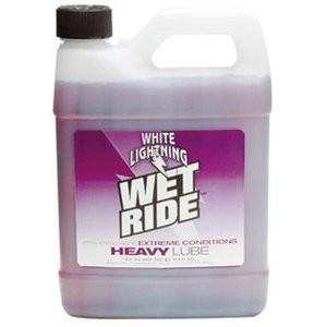 ホワイトライトニング(WHITE LIGHTNING) ケミカル ウエット ライド ヘビー ルーブ 945ml プラボトル|trycycle