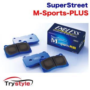 エンドレス MP357291 SSM PLUS フロント&リアセット ブレーキパッド:インプレッサ GDB|trystyle