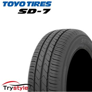 個人様宅宛も送料無料 185/70R14 TOYO TIRES トーヨータイヤ SD-7 低燃費サマータイヤ 新品1本価格 SD7|trystyle