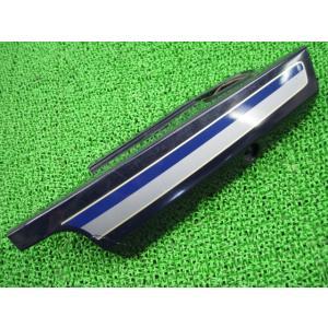 中古 スズキ 純正 バイク 部品 バーディ50 リアカバー 左 紺 16D0 BA41A カスタム素材に 車検 Genuine|ts-parts