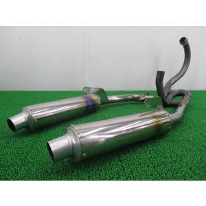 中古 社外 バイク 部品 SP忠男製TL1000S マフラー SP忠男製TL1000 VT51A 修復素材に 激レア|ts-parts