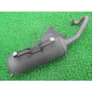 中古 スズキ 純正 バイク 部品 レッツII マフラー 17F4 NCA1PA 機能的問題なし そのまま使える 車検 Genuine|ts-parts