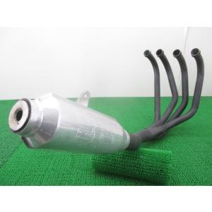 中古 社外 バイク 部品 モリワキ製ゼファー1100 マフラー 社外 ZRT10A モンスターマフラー モナカ管 アルミ ステン 機能的問題なし|ts-parts