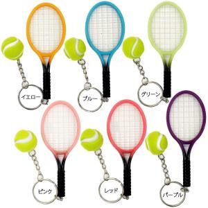 テニスラケット&ボールキーホルダー(UF-BE003)...