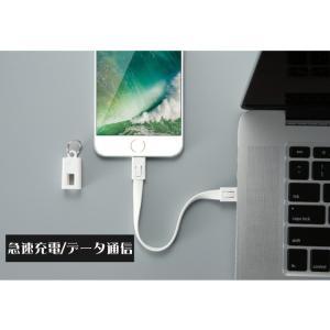 iPhone 充電ケーブル Type-C ケーブル ストラップ 短い アイコス3 iQOS Lightning 充電器 USB Android タイプC ライトニング コネクタ アイホン アイフォン 耐久|tsaden|04