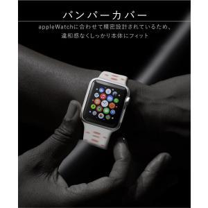 アップルウォッチ カバー ケース 44 40 Apple Watch series 4 3 2 1 保護 44mm 42mm 40mm 38mm 1 2 3 ソフト|tsaden|03