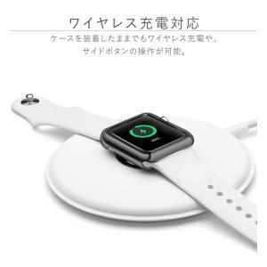 アップルウォッチ カバー ケース 44 40 Apple Watch series 4 3 2 1 保護 44mm 42mm 40mm 38mm 1 2 3 ソフト|tsaden|07
