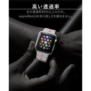 アップルウォッチ 保護フィルム 44 Apple Watch series 4 3 2 1 44mm 42mm 40mm 38mm 1 2 3 液晶フィルム ガラスフィルム|tsaden|04