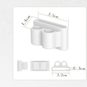 アップルウォッチ イヤホン シリコンホルダー Apple Watch AirPods Bluetooth ワイヤレスイヤホン Apple アップル|tsaden|04