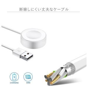 アップルウォッチ ワイヤレス充電器 Qi Apple Watch 急速充電 ミニ ワイヤレス 充電器 チャージャー チー ワイヤレス充電パッド tsaden 05
