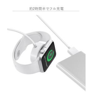 アップルウォッチ ワイヤレス充電器 Qi Apple Watch 急速充電 ミニ ワイヤレス 充電器 チャージャー チー ワイヤレス充電パッド tsaden 06