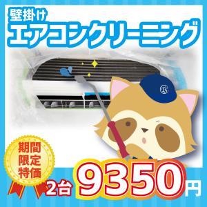 エアコン クリーニング 保証付 壁掛け 2台 期間限定価格 東京 神奈川
