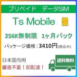 ドコモ 格安SIM 低速 無制限1ヶ月プラン(Docomo 格安SIM 1ヶ月パック) プリペイドsim 格安|tsmobile