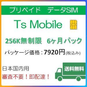 ドコモ 格安SIM 低速 無制限6ヶ月プラン(Docomo 格安SIM 6ヶ月パック) プリペイドsim docomo|tsmobile