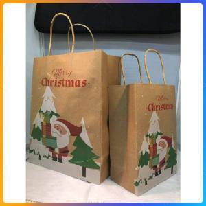 クリスマス紙袋 ラッピング用 クリスマスギフト紙袋 Xmas プレゼント包装用 chrismas p...