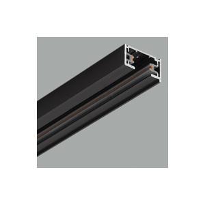 ●オーデリック 照明器具部材 ライティングダクトレール 長2m ブラック LD0212BT