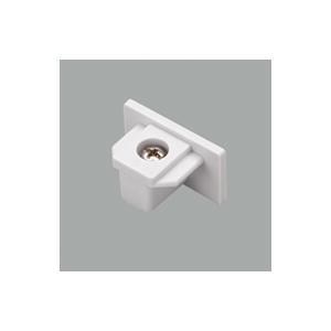 オーデリック 照明器具部材 ライティングレール用 エンドキャップ ホワイト LD0232T