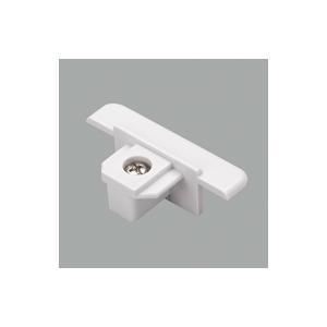オーデリック 照明器具部材 ライティングレール用 エンドキャップ埋込用 ホワイト LD0262T