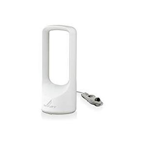 DXアンテナ 家庭用UHFアンテナ UHF室内アンテナ (ブースター内蔵) 強電界地域用 ホワイト ...