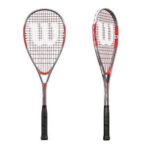 Wilson Pro Staff Ultra Light Squash Racquet with Half Cover