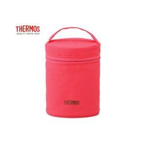 サーモス THERMOS フードコンテナーカバー REB-001 ピンク ポーチのみのお届けとなります|tsubame