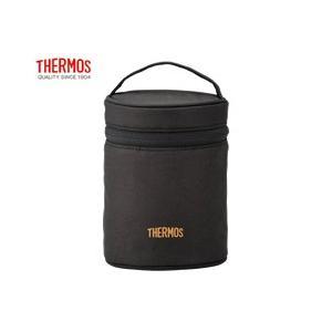 サーモス THERMOS フードコンテナーカバー REB-001 ブラック ポーチのみのお届けとなります|tsubame