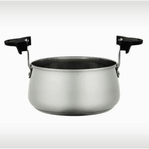 サーモス シャトルシェフ KPX-2500調理鍋のみ ブラック|tsubame
