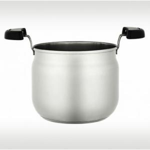 サーモス シャトルシェフ KBA-4501調理鍋のみ ステンレスブラック|tsubame
