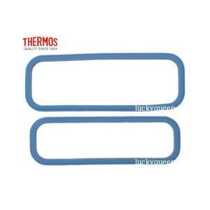 サーモス THERMOS ランチボックス 部品 DSA-600Wフタパッキンセット ブルー tsubame