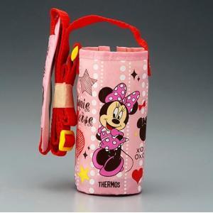 サーモス 水筒カバー FFI-400Fポーチ ライトピンク ミニーマウス|tsubame