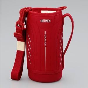サーモス THERMOS 水筒 カバー FFZ-800Fハンディポーチ レッド|tsubame