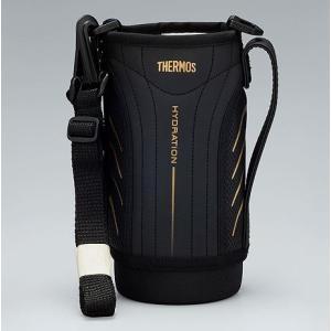サーモス THERMOS 水筒 カバー FFZ-800Fハンディポーチ ブラック|tsubame