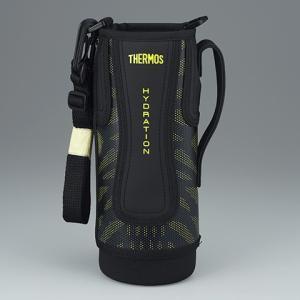 サーモス THERMOS 水筒 カバー FFZ-1001Fハンディポーチ ブラックイエロー