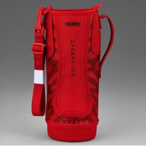 サーモス THERMOS 水筒 カバー 真空断熱スポーツボトル FFZ-1501F ハンディポーチ レッドブラック|tsubame