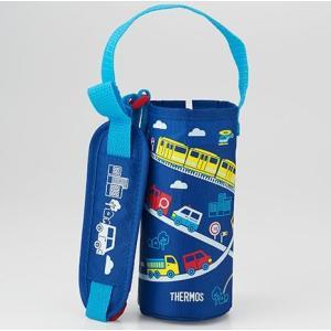 サーモス 水筒カバー FHL-401F ポーチ ブルー|tsubame