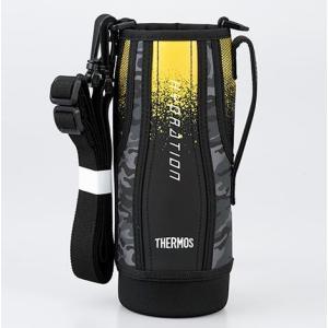 サーモス(THERMOS) 水筒 カバー FHT-1000Fハンディポーチ ブラックカモフラージュ|tsubame