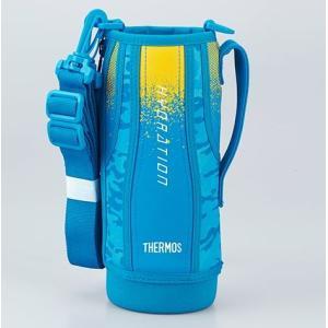 サーモス(THERMOS) 水筒 カバー FHT-1000Fハンディポーチ ブルーカモフラージュ|tsubame