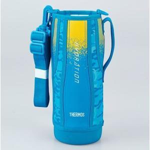 サーモス(THERMOS) 水筒 カバー FHT-1500Fハンディポーチ ブルーカモフラージュ|tsubame