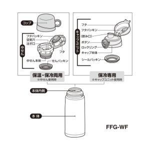 サーモス THERMOS 水筒 パッキン FF...の詳細画像3