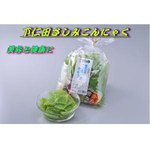ダイエット食品 さしみこんにゃく (からし酢みそ付)カット1...