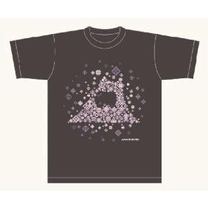 オリジナルTシャツ ネイビー こぎん刺し模様 青森県|tsugaru-ishioka