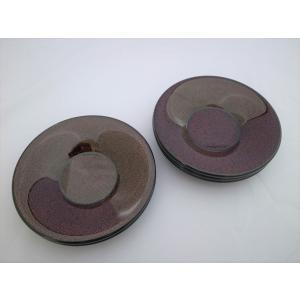 茶托 5枚入 木製 ななこ塗黒上 tsugaru-ishioka