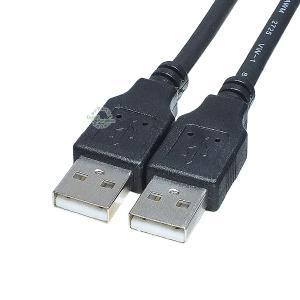 USBケーブル 1.8m USB2.0Aタイプ(オス)-US...