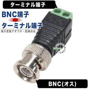 BNC(オス)→ターミナル端子変換アダプタ COMON BNC-TM 自作配線 電源変換 デジパラ C84870